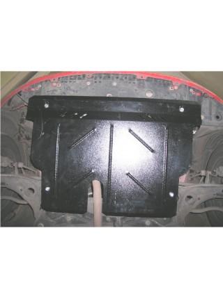 Защита двигателя, КПП, радиатора для авто Toyota Yaris II 2006-2010 V-все бензиновые ( TM Kolchuga ) ZiPoFlex
