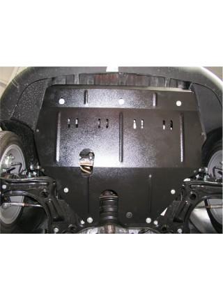 Защита двигателя, КПП, радиатора для авто Seat Ibiza 2007-2017 V-все ( TM Kolchuga ) Стандарт