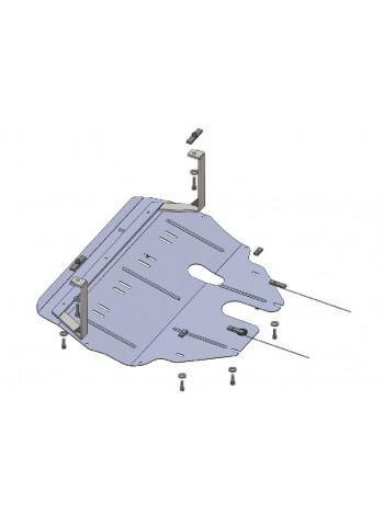 Защита двигателя, КПП, радиатора для авто Seat Ibiza IV sport 2008-2017 V-все ( TM Kolchuga ) ZiPoFlex