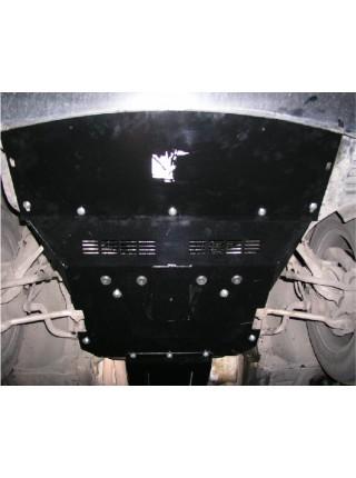 Защита двигателя, радиатора для авто BMW 5-й сериї Е 39 1995-2003 до V-3,0 (включительно: дизель, бензин) ( TM Kolchuga ) ZiPoFlex