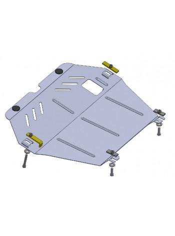Защита двигателя, КПП, радиатора для авто Opel Combo С 2001-2011 V-все МКПП ( TM Kolchuga ) Стандарт