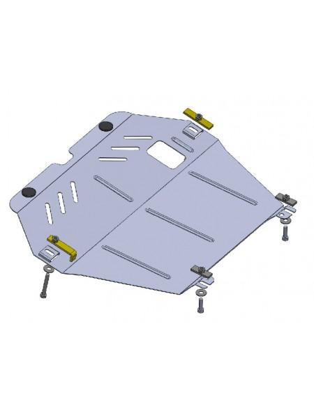 Защита двигателя, КПП, радиатора для авто Opel Combo С 2001-2011 V-все МКПП ( TM Kolchuga ) ZiPoFlex