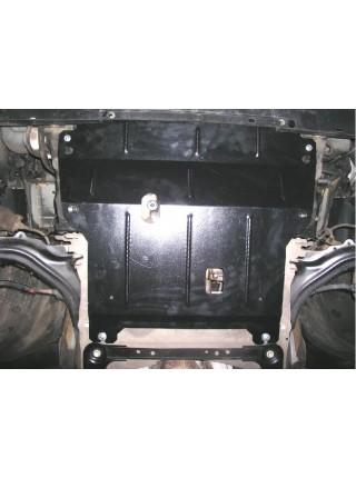 Защита двигателя, КПП, радиатора для авто Renault Megane II 2002-2008 V-все ( TM Kolchuga ) ZiPoFlex