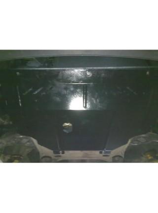 Защита двигателя, КПП, радиатора для авто Renault Trafic 2001- V-1,9 D ( TM Kolchuga ) ZiPoFlex