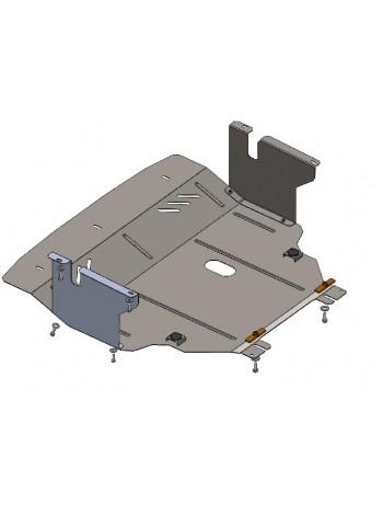 Защита двигателя, КПП, радиатора для авто Nissan Primastar 2001- V-1,9 D ( TM Kolchuga ) ZiPoFlex
