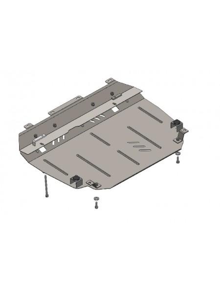 Защита двигателя, КПП, радиатора для авто Toyota Auris E180 2012- V-1,3 ( TM Kolchuga ) ZiPoFlex