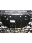 Защита двигателя, КПП, радиатора для авто Toyota Auris E180 2012- V-1,3 ( TM Kolchuga ) Стандарт
