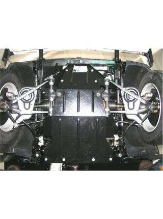 Защита двигателя, КПП, радиатора для авто ВАЗ Нива - 2121 2010- 1,7 i ( TM Kolchuga ) ZiPoFlex