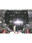 Защита двигателя, КПП, радиатора для авто Volkswagen Polo 2001-2009 V-1,4; 1,6; 1,8; 1,4D; 1,9D; (АКПП, МКПП) ( TM Kolchuga ) ZiPoFlex