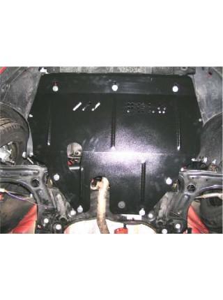 Защита двигателя, КПП, радиатора для авто Volkswagen Polo 2009- V-1,4 1,6 (АКПП, МКПП кроме 1,2 D) ( TM Kolchuga ) ZiPoFlex