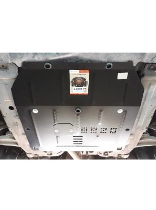 Защита двигателя, КПП для авто Сhevrolet Cruze I J300 2008-2016 V-все Б (все сборки) ( TM Kolchuga ) ZiPoFlex