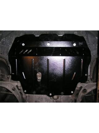 Защита двигателя, КПП, радиатора для авто Volkswagen Passat CC 2008- V-2,0 D; 2,0i Б; ( TM Kolchuga ) ZiPoFlex