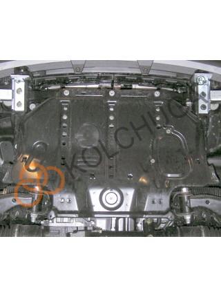 Защита радиатора для авто Lexus LX 470 1997-2007 V-все ( TM Kolchuga ) ZiPoFlex