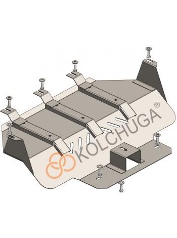 Защита радиатора для авто Lexus LX 470 1997-2007 V-все ( TM Kolchuga ) Стандарт