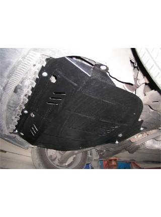 Защита двигателя, КПП, радиатора для авто Volvo C30 2006-2013 V-1,6; 1,8; 2,0; 2,4; 2,4D; ( TM Kolchuga ) ZiPoFlex