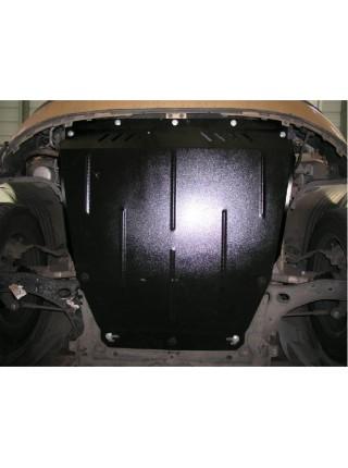 Защита двигателя, КПП, радиатора для авто Ford Connect 2002-2013 V-все ( TM Kolchuga ) ZiPoFlex