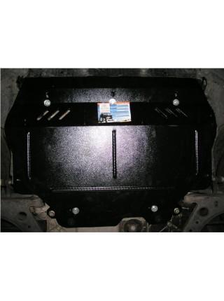 Защита двигателя, КПП, радиатора для авто Volkswagen Caddy WeBasto 2004-2010 V-все D (только гидроусилитель) ( TM Kolchuga ) ZiPoFlex