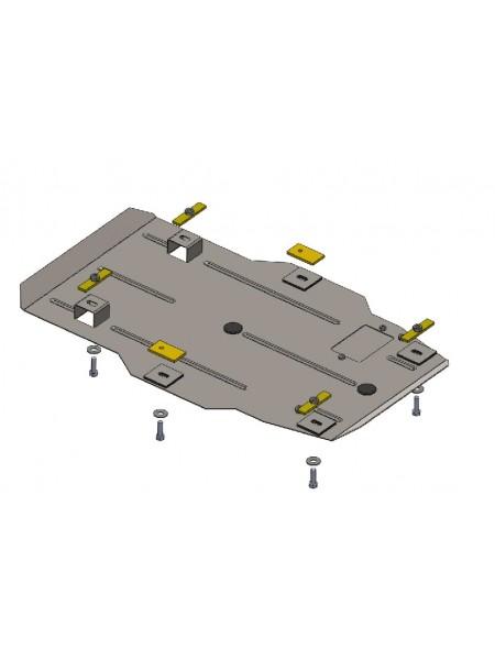 Защита двигателя, радиатора для авто Chevrolet Camaro 2009- V-3,6 (АКПП) ( TM Kolchuga ) ZiPoFlex