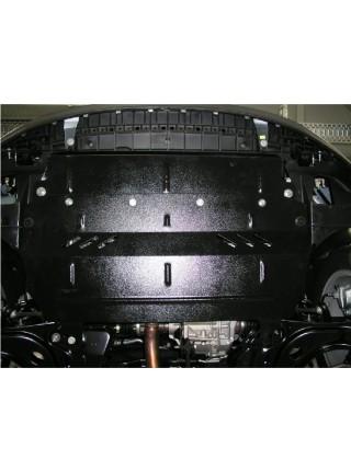 Защита двигателя, КПП, радиатора для авто Citroen С3 2009-2016 V-1,6 ЕР6 (АКПП) ( TM Kolchuga ) ZiPoFlex