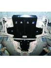 Защита двигателя, КПП для авто Mercedes-Benz W 211 E280 2002-2008 V-только 3,0 (АКПП, 4Matik) ( TM Kolchuga ) ZiPoFlex