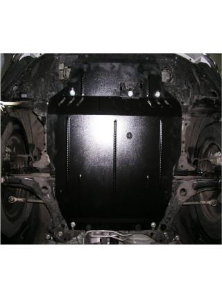 Защита двигателя, КПП, радиатора для авто Citroen С-Crosser 2007- V-2,2HDI 2.4 (АКПП) ( TM Kolchuga ) ZiPoFlex