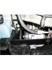 Защита двигателя, КПП, радиатора для авто Citroen С-Crosser 2007- V-2,2HDI 2.4 (АКПП) ( TM Kolchuga ) Стандарт