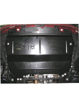 Защита двигателя, КПП, радиатора для авто Citroen С3 Picasso 2003-2017 V-все (МКПП, АКПП, бензин дизель) ( TM Kolchuga ) Стандарт