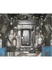 Защита двигателя, КПП, радиатора для авто Toyota Land Cruiser Prado J150 2009- V-4.0 (бензин, 4,0 только АКПП, 2,7 только МКПП) ( TM Kolchuga ) Стандарт