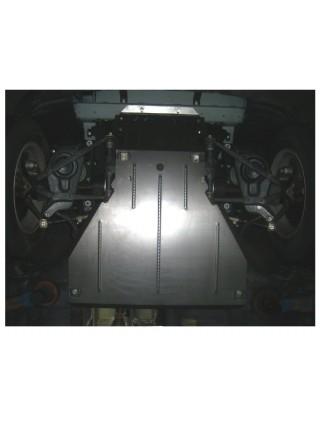 Защита двигателя, КПП, радиатора для авто Chevrolet Niva 2002- V-1.7 ( TM Kolchuga ) ZiPoFlex