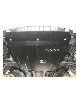Защита двигателя, КПП, радиатора для авто Hyundai Accent RB (Solaris) IV 2011-2015-2017 V-все только Российская сборка ( TM Kolchuga ) Стандарт