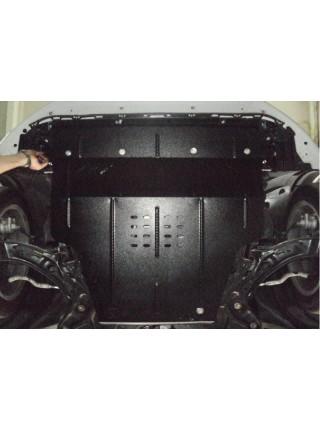 Защита двигателя, КПП, радиатора для авто Suzuki Swift V 2011- V-1,3D; 1,2; (АКПП, МКПП) ( TM Kolchuga ) ZiPoFlex