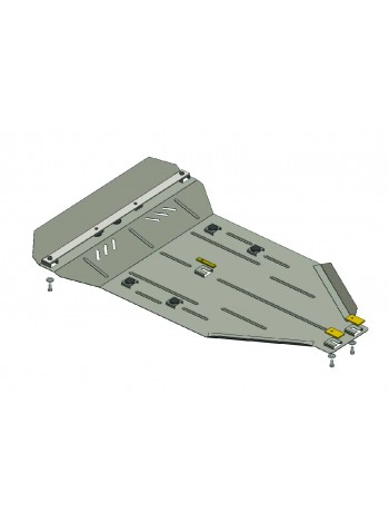 Защита двигателя, КПП, радиатора для авто Mercedes-Benz Viano D (W 639) 2010- V-2,0 CDI (4х4, АКПП) ( TM Kolchuga ) Стандарт