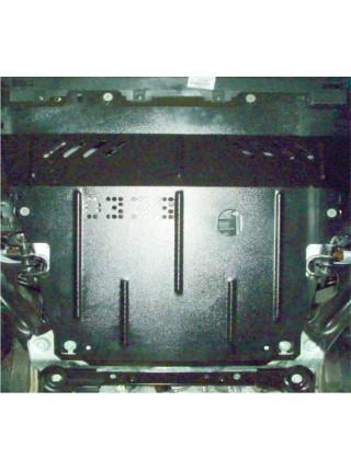 Защита двигателя, КПП, радиатора для авто Mercedes-Benz Citan 2012- V-все ( TM Kolchuga ) ZiPoFlex