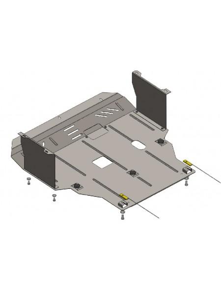 Защита двигателя, КПП для авто Hyundai Elantra V (MD) 2011-2014 V-все (МКПП, АКПП) ( TM Kolchuga ) ZiPoFlex