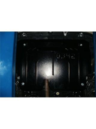Защита двигателя, КПП, радиатора для авто Toyota Yaris III 2014-2017 V-все ( TM Kolchuga ) ZiPoFlex