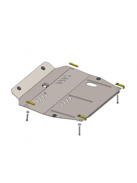 Защита двигателя, КПП, радиатора для авто Ssаng Yong Korando 2011- V-все (АКПП) ( TM Kolchuga ) ZiPoFlex