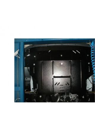 Защита двигателя, КПП, радиатора для авто Ford Transit 2006-2013 V-2.2 D передний привод ( TM Kolchuga ) ZiPoFlex