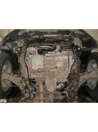 Защита двигателя,КПП, раздат. коробки частично для авто Chevrolet Captiva 2011- V-2,4 ( TM Kolchuga ) ZiPoFlex