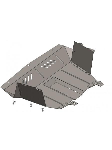 Защита двигателя, КПП, радиатора для авто Fiat Doblo I поколение 2000-2009 V-все ( TM Kolchuga ) ZiPoFlex