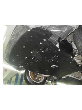 Защита двигателя, КПП, радиатора для авто Hyundai I-40 2011- V-1,7 CRDI МКПП АКПП ( TM Kolchuga ) ZiPoFlex