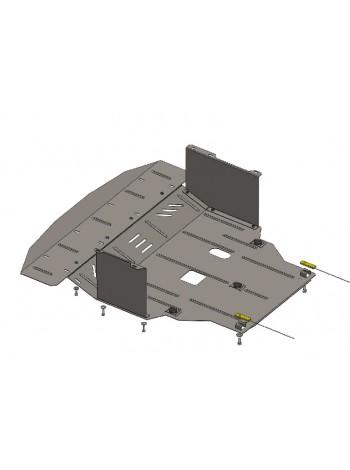 Защита двигателя, КПП, радиатора для авто Hyundai I-40 2011- V-1,7 CRDI (МКПП, АКПП) ( TM Kolchuga ) Стандарт