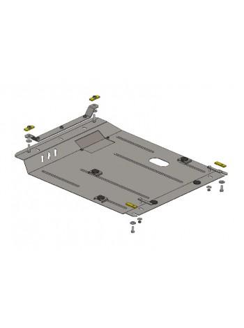 Защита двигателя, КПП, радиатора для авто Dodge Caliber 2006-2012 V-2,0 (АКПП) ( TM Kolchuga ) ZiPoFlex