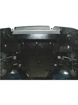 Защита двигателя и КПП для авто Toyota Hilux 2011-2015 V-2,5D; 3,0D; ( TM Kolchuga ) ZiPoFlex