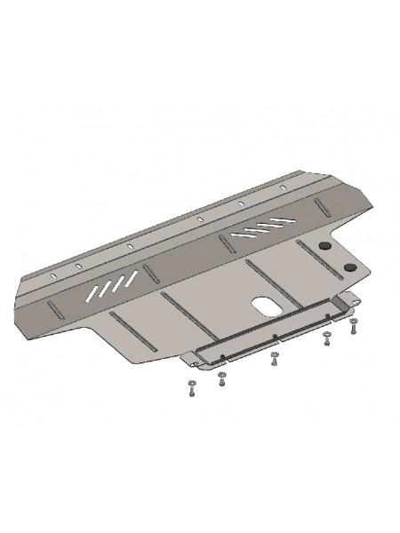 Защита двигателя, КПП, радиатора для авто Fiat Linea 2011- V-1,6 (АКПП) ( TM Kolchuga ) ZiPoFlex