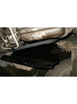 Защита двигателя, КПП, радиатора для авто Nissan Interstar 1998-2010 V-все (кроме 3,0 DCI с кондиционером) ( TM Kolchuga ) ZiPoFlex