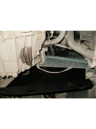 Защита двигателя, КПП, радиатора для авто Renault Master 1998-2010 V-все кроме 3,0 DCI с кондиционером ( TM Kolchuga ) ZiPoFlex