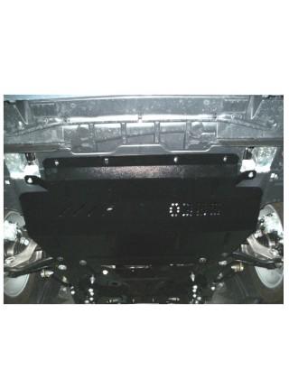 Защита двигателя, КПП, радиатора (частично) для авто Citroen С5 2008- V-1,8; 2.0 HDI; (балка передней подвески из стали) ( TM Kolchuga ) Стандарт