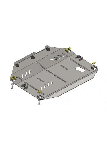Защита двигателя, КПП, раздат. коробки (частично) для авто Chevrolet Captiva 2011- V-3,0 ( TM Kolchuga ) ZiPoFlex