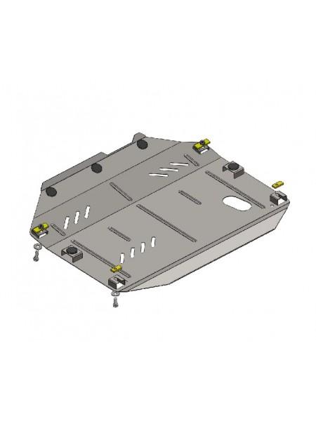 Защита двигателя,КПП, раздат. коробки частично для авто Chevrolet Captiva 2011- V-3,0 ( TM Kolchuga ) ZiPoFlex
