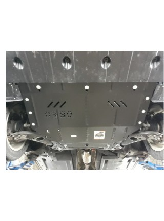 Защита двигателя, КПП, радиатора для авто Kia Optima 2010-2015 V-все   ( TM Kolchuga ) ZiPoFlex